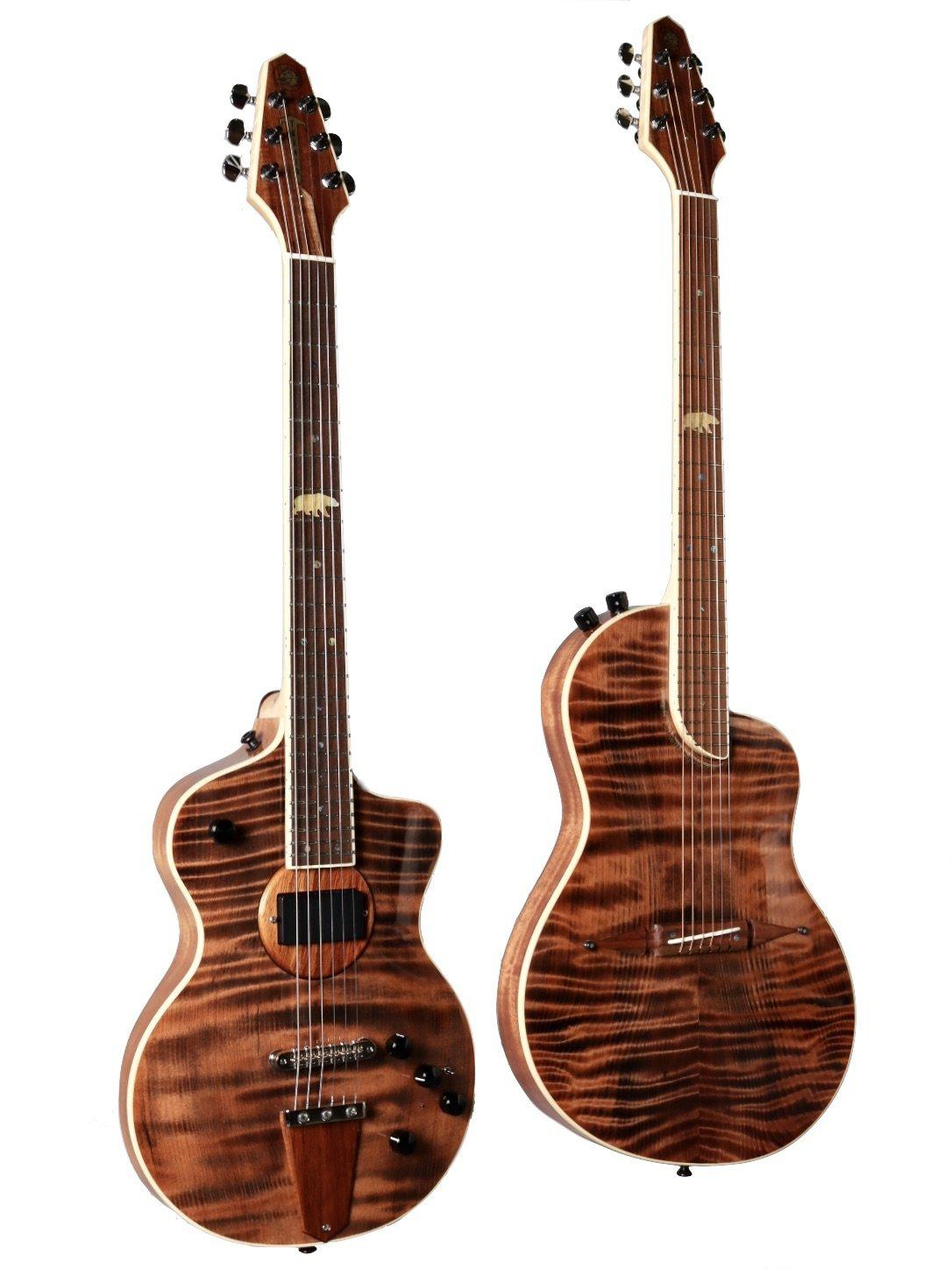 Rick Turner California Series Guitars - Model 1 & Renaissance Twin Set 2021  Set #2 of 5 - Rick Turner Guitars - Heartbreaker Guitars