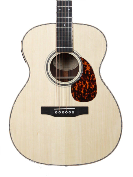 Larrivee OM-40R with LR Baggs Stage Pro Pick Up Moonwood Spruce - Larrivee Guitars - Heartbreaker Guitars