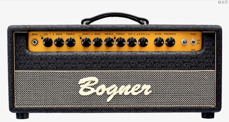 Bogner Shiva Original Head In Stock Now! - Bogner Amplifiers - Heartbreaker Guitars