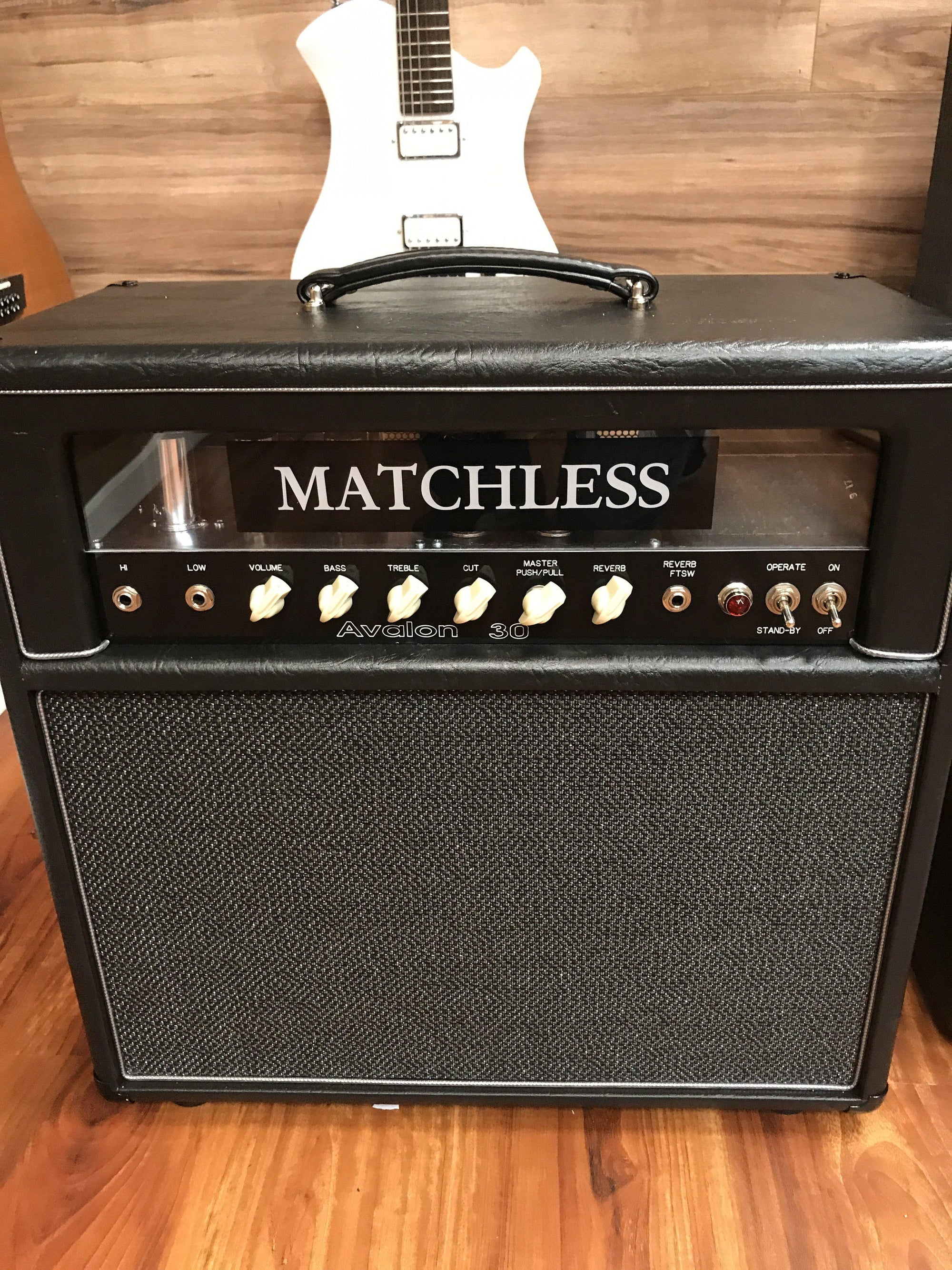 Matchless Avalon 30 with Reverb and Plexi Panel - Matchless Amplifiers - Heartbreaker Guitars