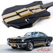 Wild Custom Guitars  66' Ford Mustang GT 350H Fastback #180103 - Wild Custom & Sauvage - Heartbreaker Guitars