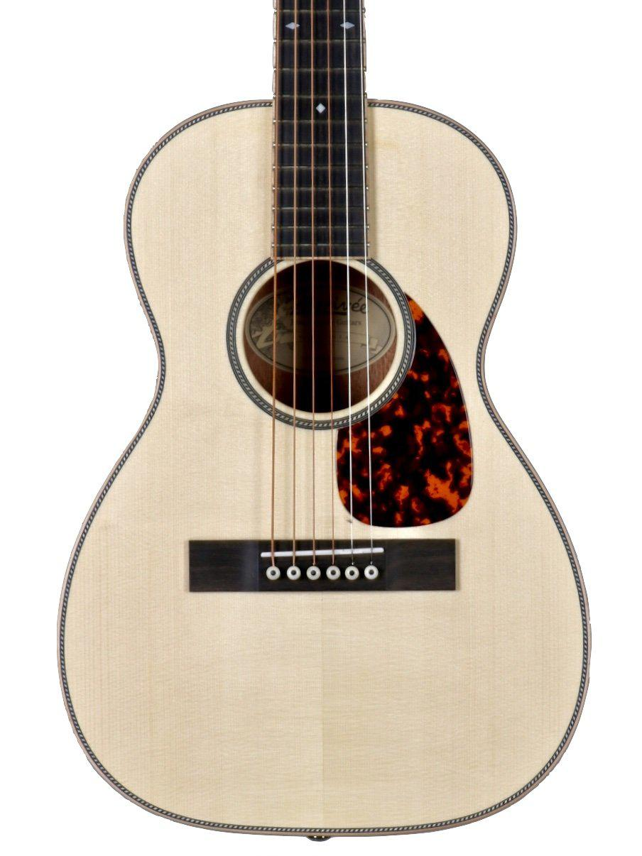 Larrivee T40 Legacy Travel Guitar Moon Spruce / Mahogany #134064 - Larrivee Guitars - Heartbreaker Guitars