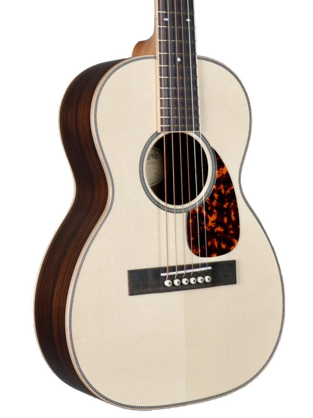 Larrivee T40 Legacy Travel Guitar Moon Spruce / Indian Rosewood #134065 - Larrivee Guitars - Heartbreaker Guitars