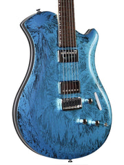 Relish Platinum Crystal Lake Placid Blue #1 of 1 Limited with Pick Up Swapping - Relish Guitars - Heartbreaker Guitars