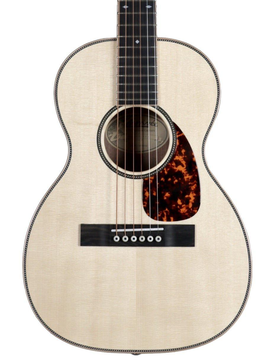 Larrivee T44 Custom Travel Guitar Moon Spruce / Walnut #134067 - Larrivee Guitars - Heartbreaker Guitars