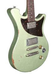 Wild Custom Guitars Wild One Acid Green #171211 - Wild Custom & Sauvage - Heartbreaker Guitars