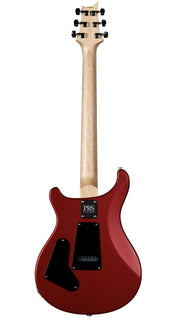 PRS CE 24 Semi-Hollow Satin Red Metallic Pattern Thin Carve #304324 - Paul Reed Smith Guitars - Heartbreaker Guitars