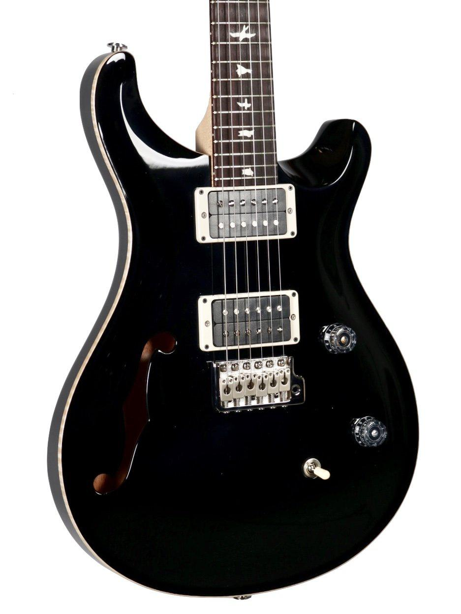 PRS CE 24 Semi-Hollow Black Pattern Thin Carve #302563 - Paul Reed Smith Guitars - Heartbreaker Guitars