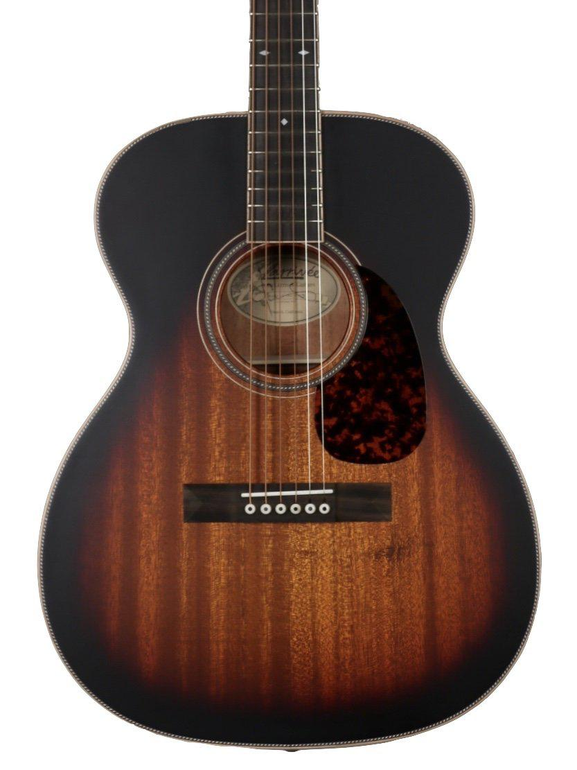 Larrivee OM 40 Vintage Sunburst All  Mahogany #133588 - Larrivee Guitars - Heartbreaker Guitars