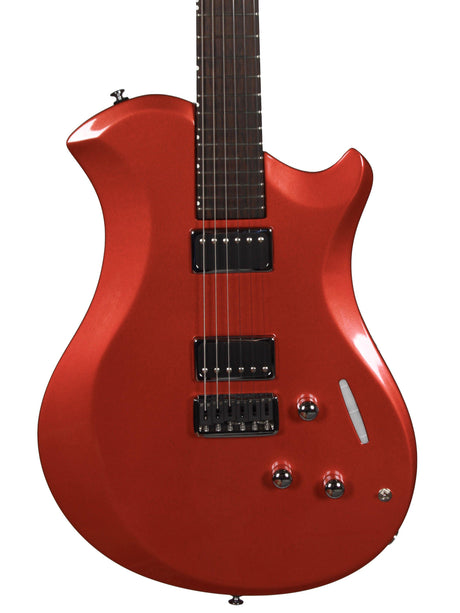 Relish Guitars Platnum Edition Metallic Cherry with Pick Up Swapping 2 free pick ups - Relish Guitars - Heartbreaker Guitars