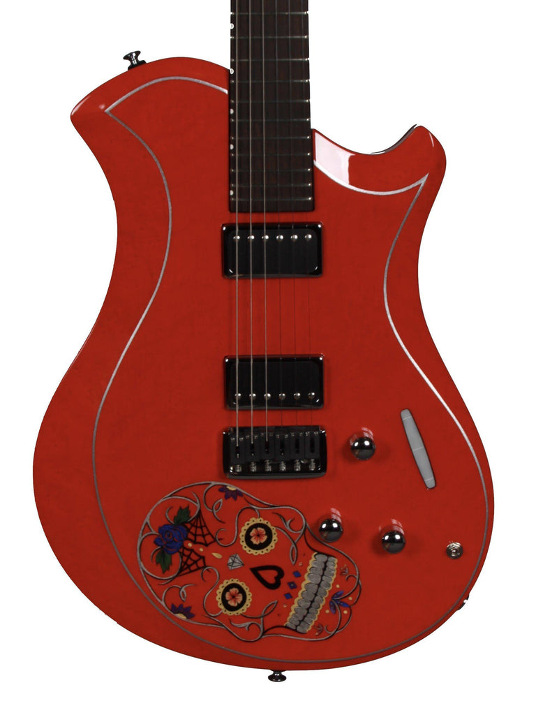 Relish Guitars Platinum Sugar Skull Chili - Relish Guitars - Heartbreaker Guitars