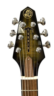 "Rick Turner Model 1 FW NAMM Show ""The Gator"" Pre-Owned Mint - Rick Turner Guitars - Heartbreaker Guitars"