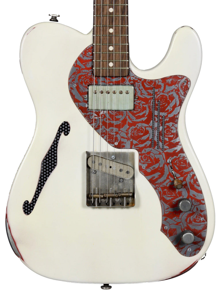 James Trussart  Deluxe Steelcaster w/ F-Hole - James Trussart Custom Guitars - Heartbreaker Guitars