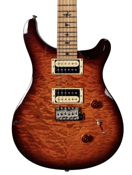 PRS SE Custom 24 Roasted Maple Limited in Tobacco Sunburst Serial #T10287 - Paul Reed Smith Guitars - Heartbreaker Guitars