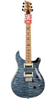 PRS SE Custom 24 Roasted Maple Limited in Whale Blue - Paul Reed Smith Guitars - Heartbreaker Guitars