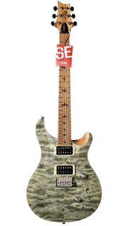 PRS SE Custom 24 Roasted Maple Limited in Trampas Green - Paul Reed Smith Guitars - Heartbreaker Guitars