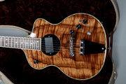 Rick Turner Model 1 Custom Master Koa with Piezo Pre-Owned Dead Mint! - Rick Turner Guitars - Heartbreaker Guitars