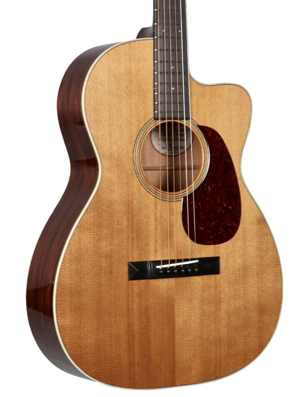Bourgeois OMS Country Boy Heirloom Series Aged Tone Spruce/ Mahogany #8824 - Bourgeois Guitars - Heartbreaker Guitars