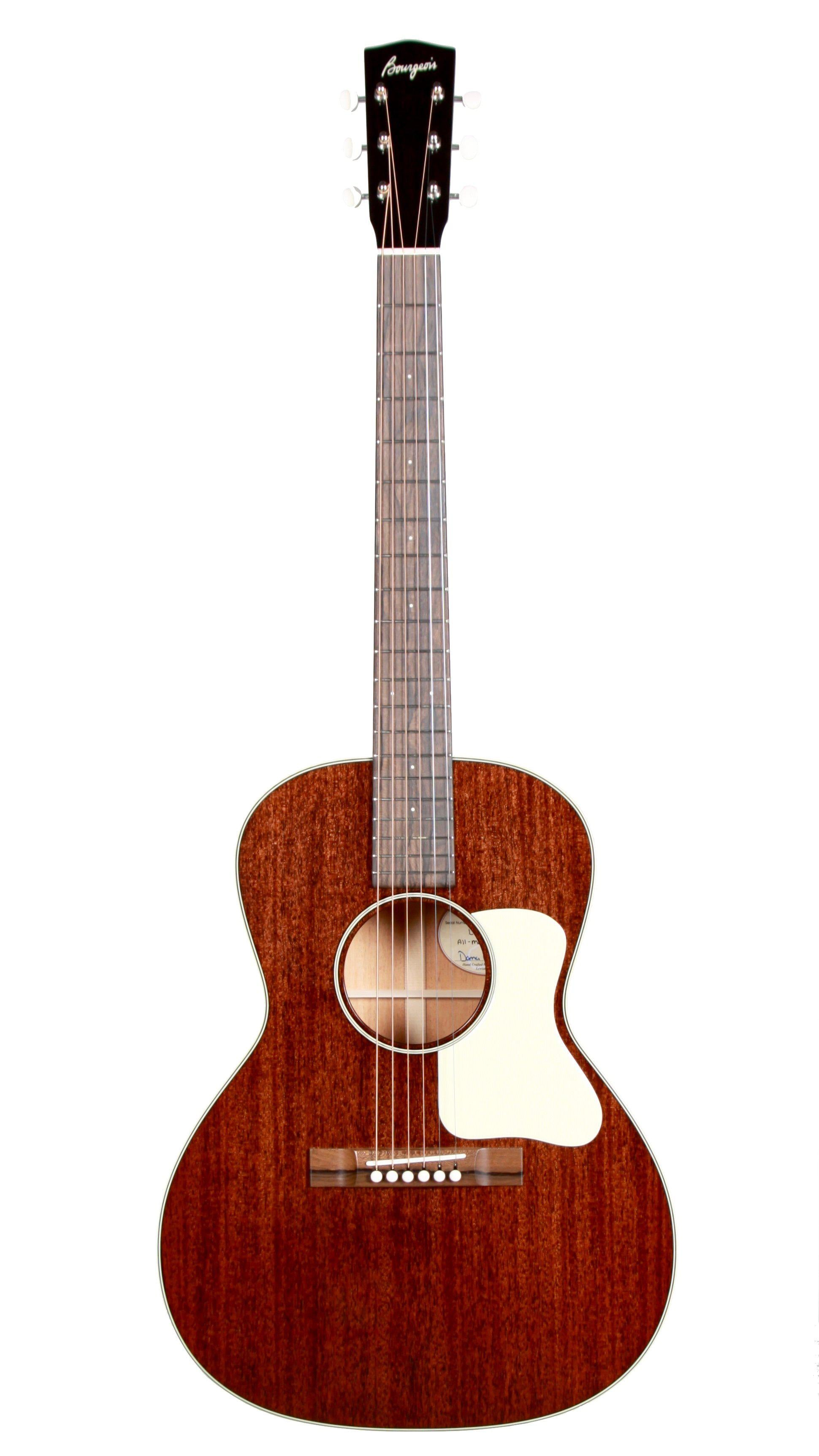 Bourgeois L-DBO All Mahogany - Bourgeois Guitars - Heartbreaker Guitars