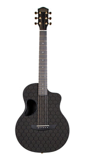 McPherson Carbon Fiber Touring Model Honeycomb Finish and Gold Hardware #GCTH918B - McPherson Guitars - Heartbreaker Guitars