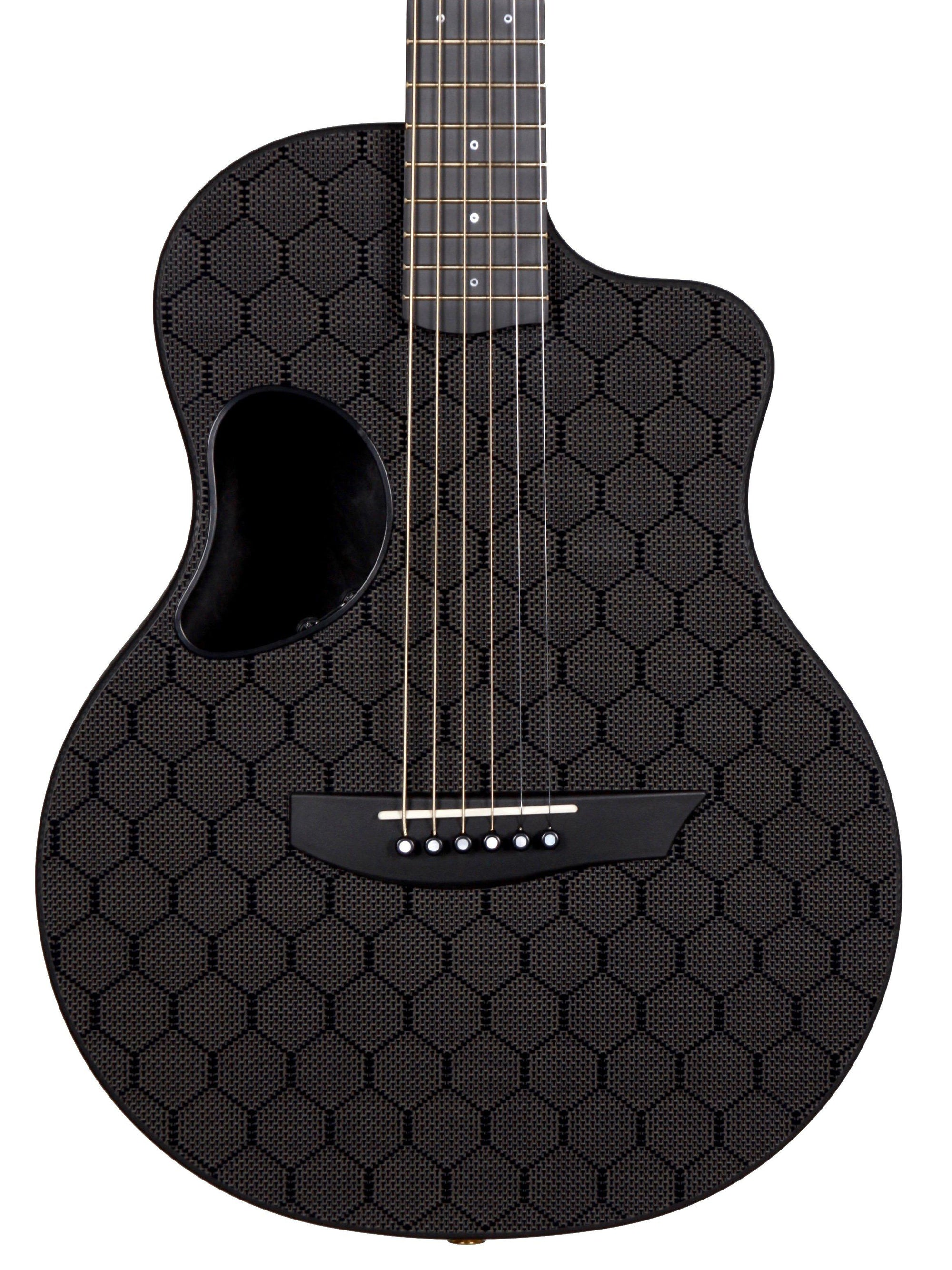 McPherson Carbon Fiber Touring Model Honeycomb Finish and Gold Hardware #GCTH917B - McPherson Guitars - Heartbreaker Guitars