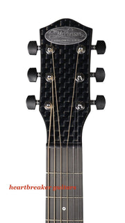 McPherson Touring Carbon Fiber Basket Weave Finish Chrome Hardware Serial #10173 - McPherson Guitars - Heartbreaker Guitars