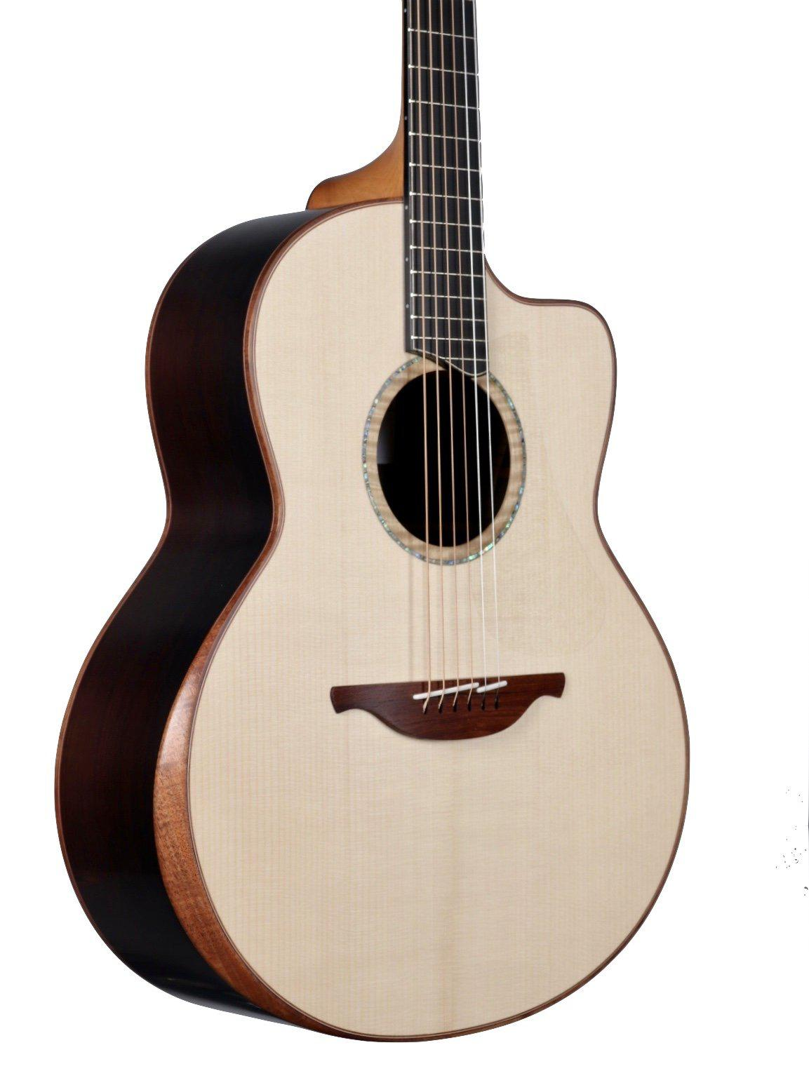 Lowden F50c Adirondack Spruce / Brazilian Rosewood with Bevel - Lowden Guitars - Heartbreaker Guitars
