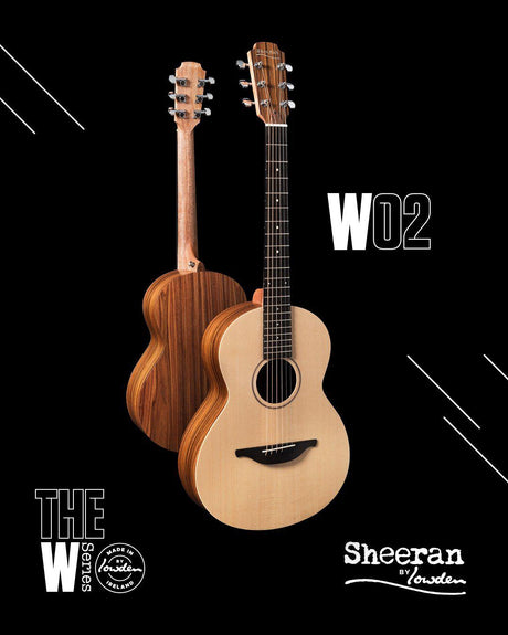 Lowden Sheeran W2 Model (In Stock!) - Lowden Guitars - Heartbreaker Guitars