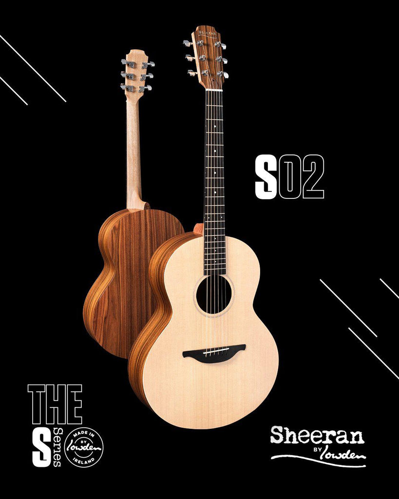 Lowden Sheeran S2 Model with Bevel and Pick Up (Pre-Order) - Lowden Guitars - Heartbreaker Guitars