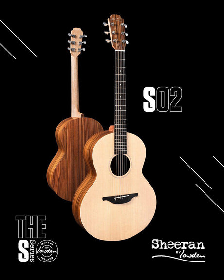 Lowden Sheeran S2 Model with Bevel and Pick Up IN STOCK - Lowden Guitars - Heartbreaker Guitars
