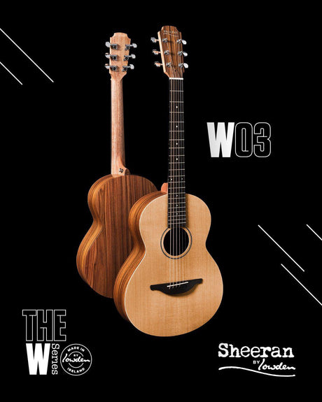 Lowden Sheeran W3 Model with Bevel and Pick Up IN STOCK - Lowden Guitars - Heartbreaker Guitars