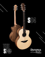 Lowden Sheeran S4 Cutaway Model with Bevel and Pick Up (Pre-Order) - Lowden Guitars - Heartbreaker Guitars