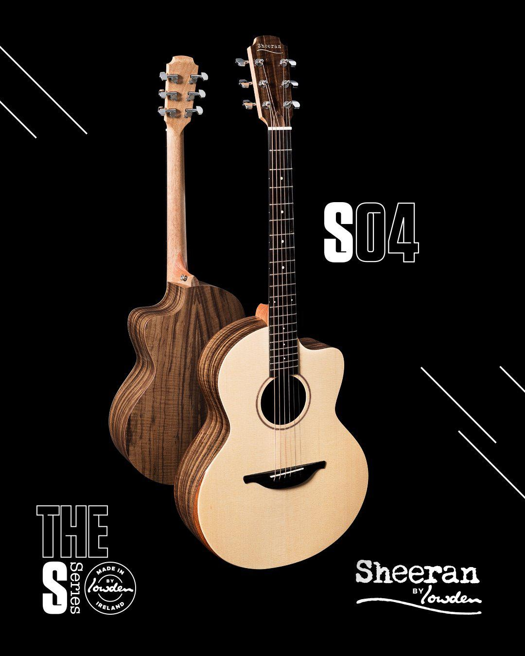 Lowden Sheeran S4 Cutaway Model with Bevel and Pick Up In Stock! #4157 - Lowden Guitars - Heartbreaker Guitars