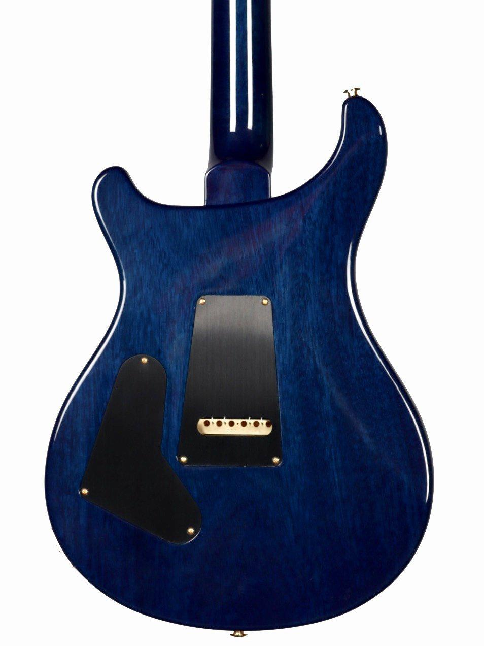 Paul Reed Smith Custom 24  Artist Pack Pattern Thin Faded Blue Wrap Burst - Paul Reed Smith Guitars - Heartbreaker Guitars
