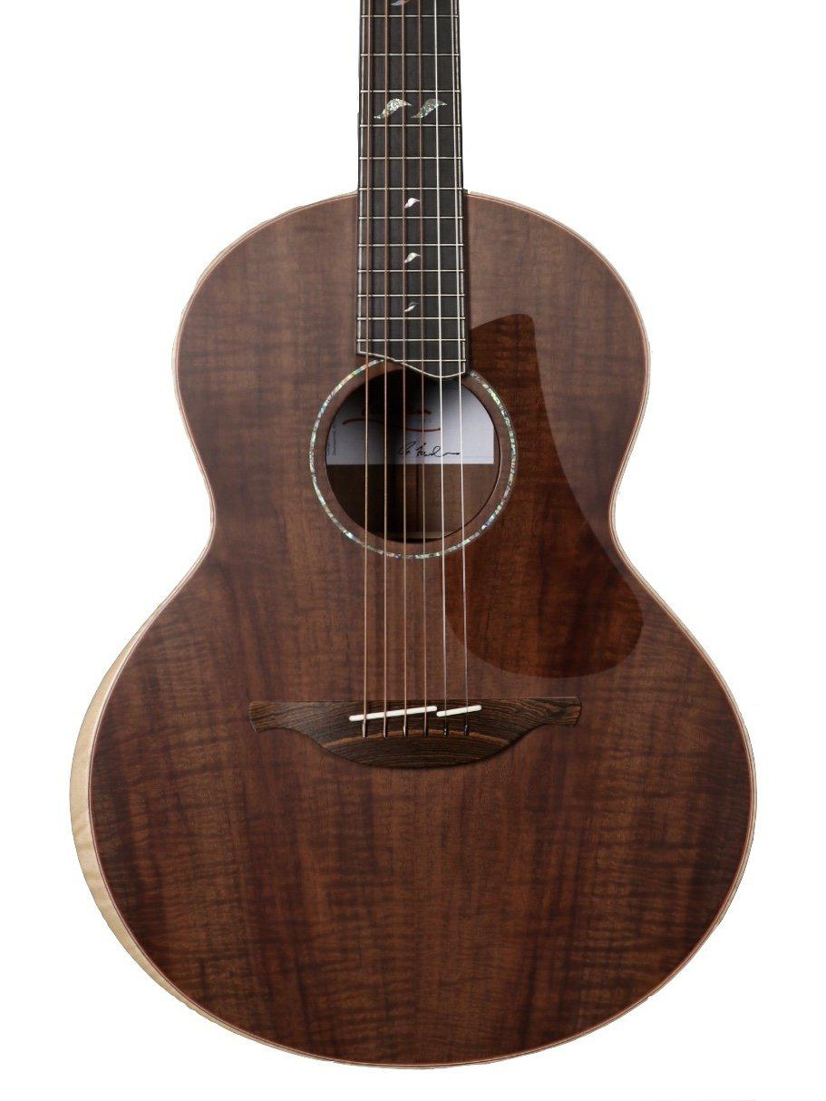 Lowden S50 Custom NAMM 2020 Edition Master Grade Black Walnut - Lowden Guitars - Heartbreaker Guitars