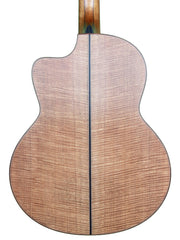 Lowden F50c Lutz Spruce / Fiddleback Mahogany with Bevel - Lowden Guitars - Heartbreaker Guitars