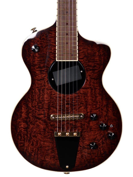 Rick Turner Model 1 FW Custom Featherweight Quilted Maple Dark Burst - Rick Turner Guitars - Heartbreaker Guitars