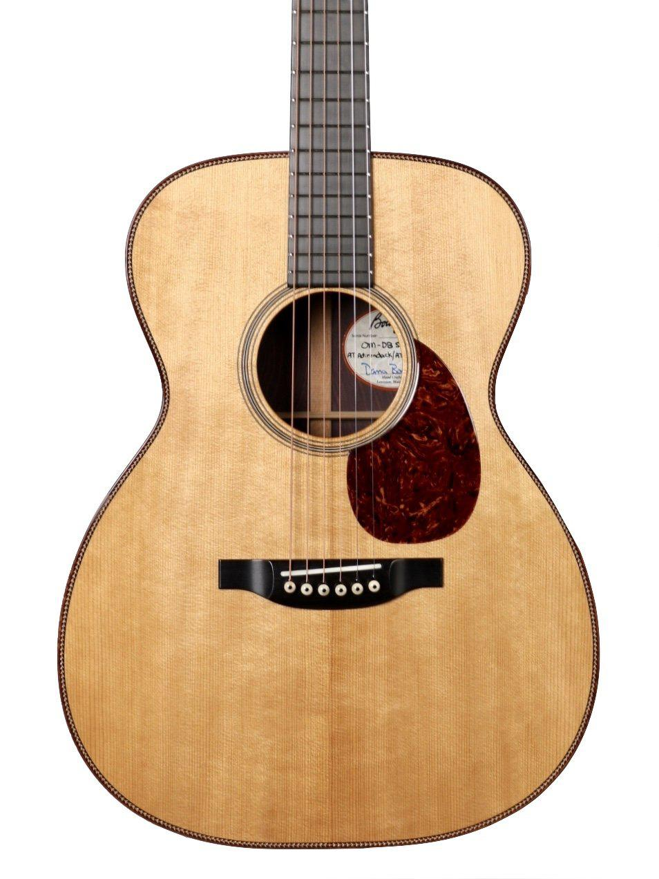 Bourgeois OM DB Signature Aged Tone Adirondack Spruce / Master Grade Indian Rosewood #8762 - Bourgeois Guitars - Heartbreaker Guitars