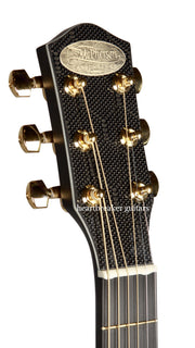 McPherson Carbon Fiber White Trim Touring Gold Hardware - McPherson Guitars - Heartbreaker Guitars