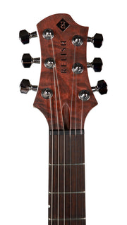 Relish Mary One with Pick Up Swapping and Piezo Bordeaux St. Curly Maple - Relish Guitars - Heartbreaker Guitars