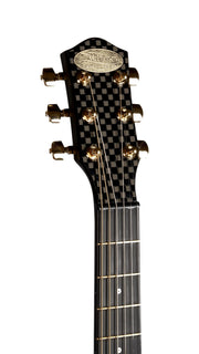 New McPherson Touring Carbon Fiber Basket Weave Finish Gold Hardware - McPherson Guitars - Heartbreaker Guitars