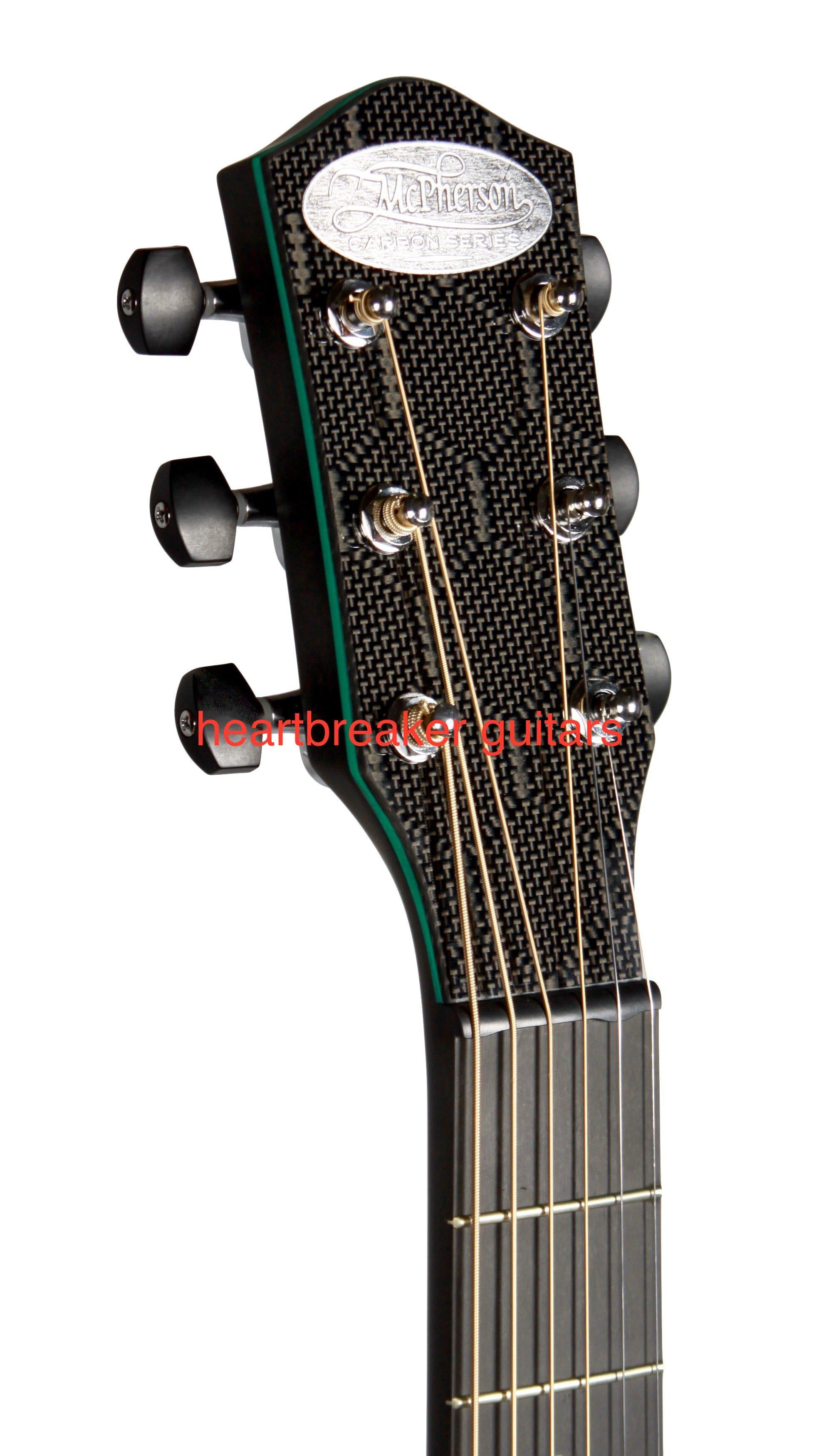 McPherson Touring Green - McPherson Guitars - Heartbreaker Guitars
