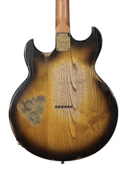 "Paoletti Lounge ""127"" Chestnut with 3 Tone Tobacco Sunburst #77920 - Paoletti - Heartbreaker Guitars"