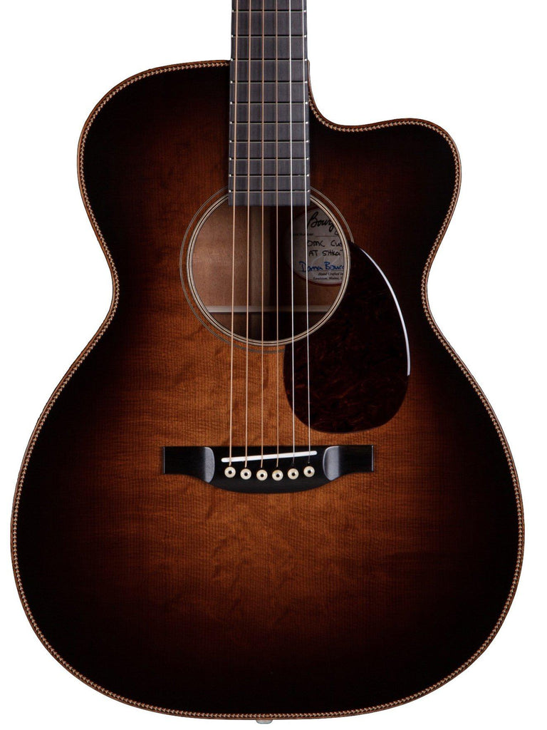 Bourgeois OMC DB Signature Large Sound Hole Custom - Bourgeois Guitars - Heartbreaker Guitars