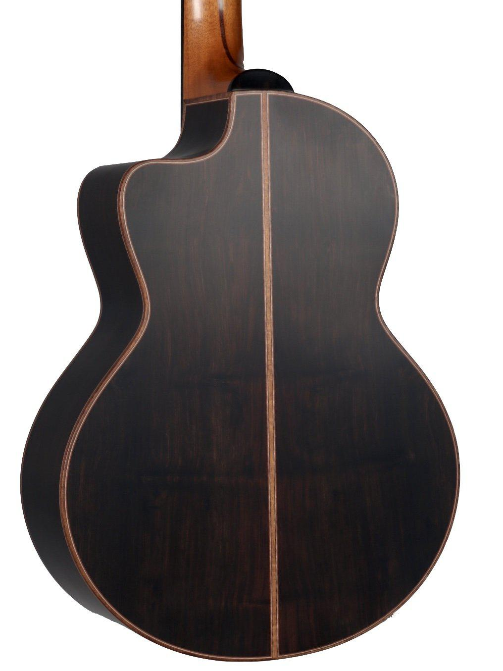 Lowden S50J Custom Jazz African Blackwood #2 Inlay Package #24012 - Lowden Guitars - Heartbreaker Guitars