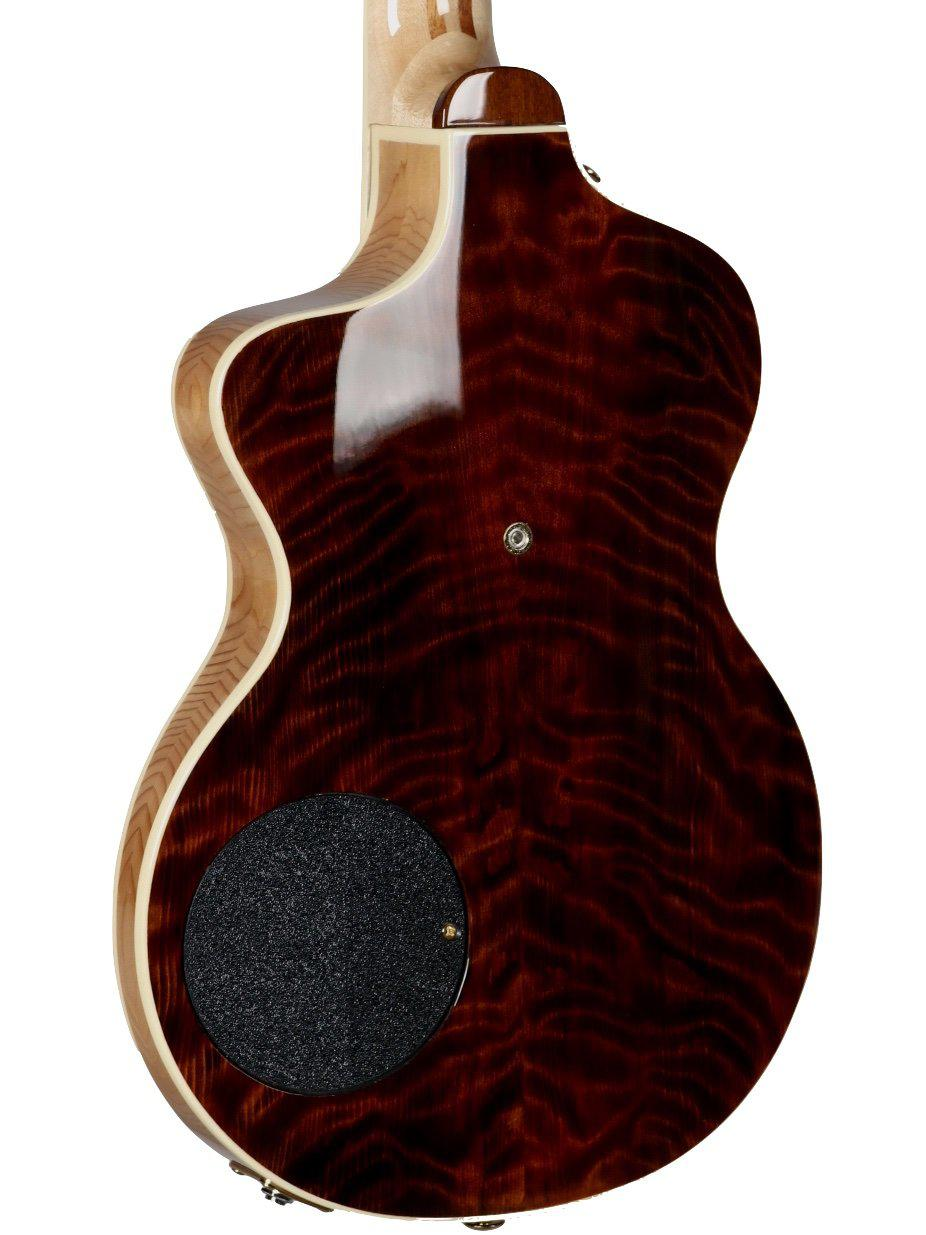 Rick Turner Model 1 Featherweight Custom Curly Redwood #5514 - Rick Turner Guitars - Heartbreaker Guitars