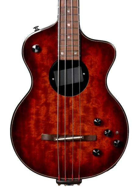 Rick Turner Model 1 Bass Custom with Piezo and EQ - Rick Turner Guitars - Heartbreaker Guitars