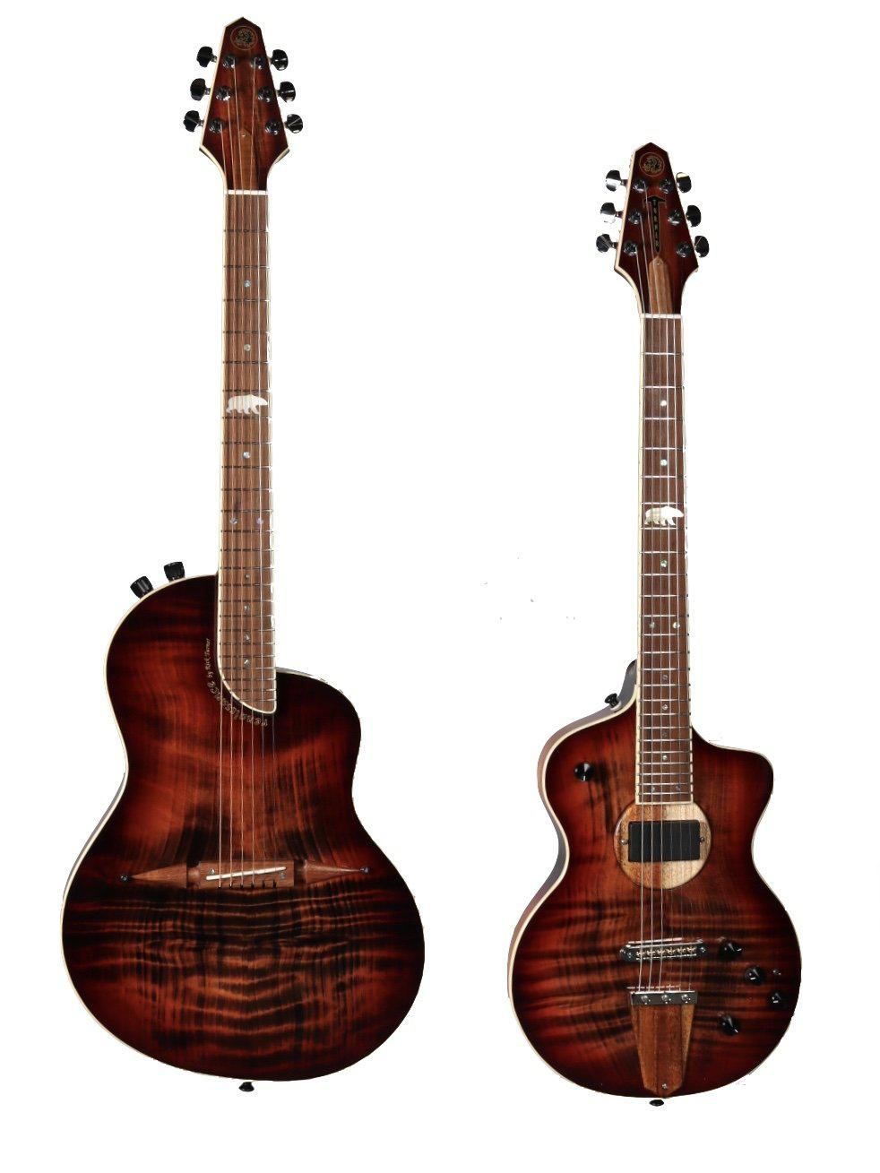 Rick Turner California Series Model 1 and Renaissance RS6 #3 of 5 (Sunburst Finish) - Rick Turner Guitars - Heartbreaker Guitars