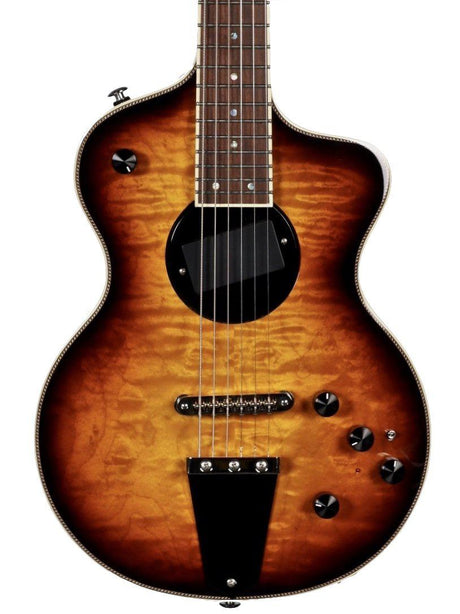 Rick Turner Model 1 Custom Featherweight Quilted Maple Burst - Rick Turner Guitars - Heartbreaker Guitars
