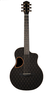 McPherson Carbon Fiber Touring Guitar with Gold Hardware, Honeycomb pattern  #GCTH9840 - McPherson Guitars - Heartbreaker Guitars